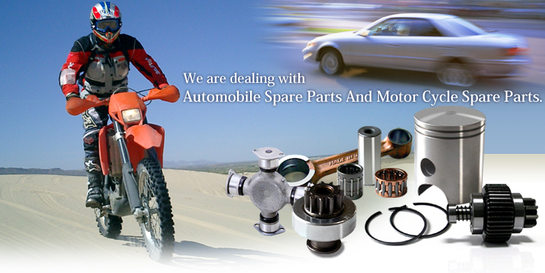 Handling Items for Automobile Spares.